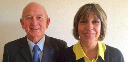 Hubert Talery et Danielle Laget